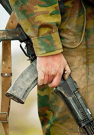 АК-74 пока остается основным личным оружием в Вооруженных Силах РФ.