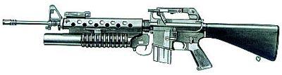 Винтовка М16 с гранатометом М203