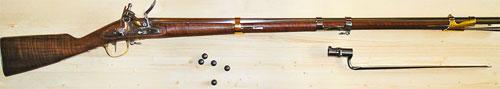 Драгунский мушкет образца 1777 года современного производства «Davide Pedersoli»