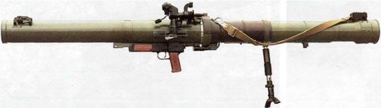 Гранатомет РПГ-29 «Вампир» в боевом положении