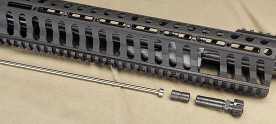 Элементы газоотводного механизма: заглушка, она же газовый регулятор, поршень и толкатель
