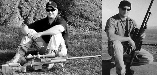 Два самых знаменитых оператора MacMillan TAC — американец Крис Кайл с TAC-338 и канадец Роб Ферлонг с TAC-50
