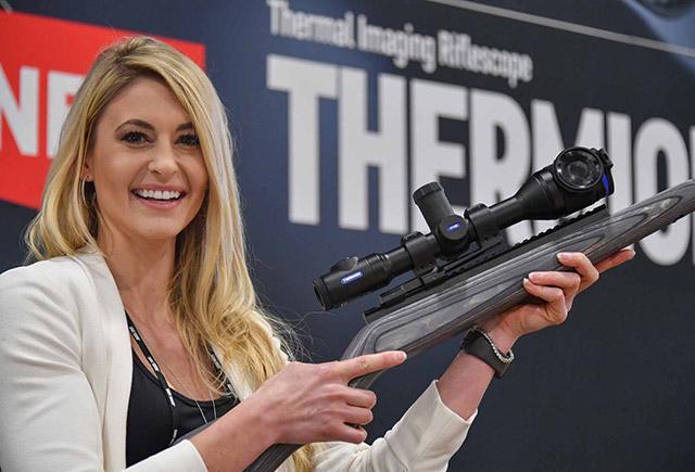 На выставке SHOT Show 2019 компания Pulsar представила свой инновационные тепловизионный винтовочный прицел Pulsar Thermion
