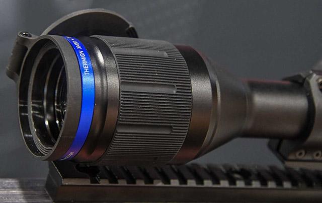 Линза объектива тепловизионного винтовочного прицела Thermion riflescope от Pulsar