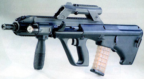 Автомат Steyr AUG A3 – последняя модификация образца, созданного более 30 лет назад