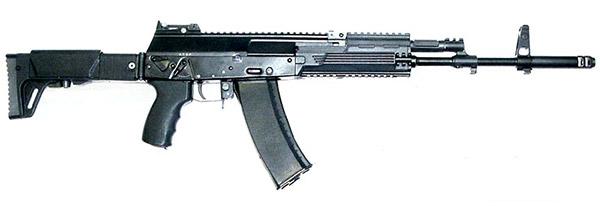 Автомат АК-12 с штатным магазином