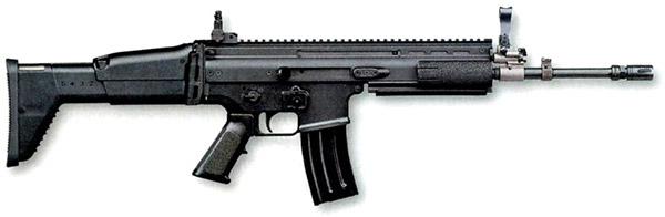 Автомат FN SCAR-L (Бельгия), поступивший на вооружение спецназа ВС США