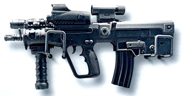 Компактный автомат Х95 (Израиль), созданный на базе модели Tavor компанией IWI