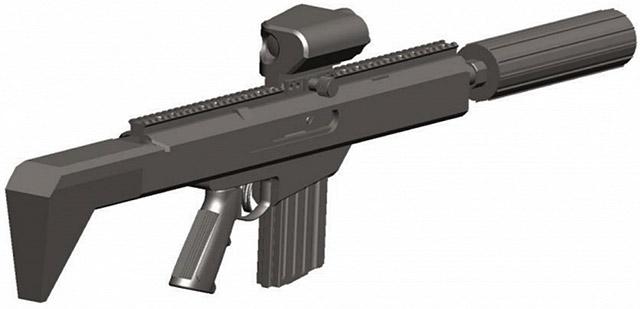 Возможный концепт штурмовой винтовки программы NGSW был опубликован в 2015 году