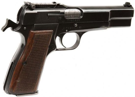 Browning High Power с переменным прицелом