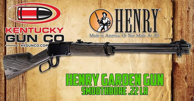 Гладкоствольное ружьё Henry Garden Gun Smoothbore .22