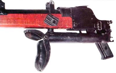 приклад ПТР PzB 39 в сложенном положении