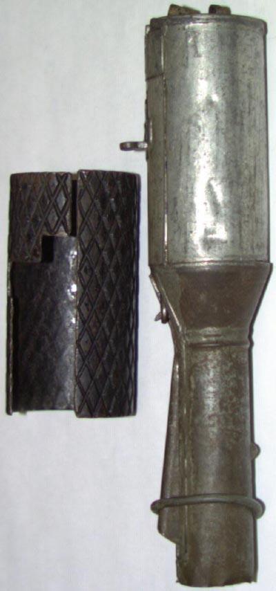 граната образца 1914/30 года с оборонительным чехлом