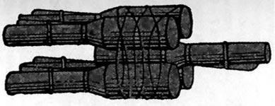 связка из пяти гранат образца 1914/30 года для борьбы с танками