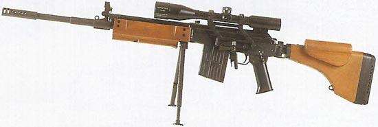Снайперская винтовка Galil