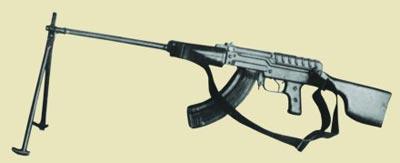 7,62-мм ручной пулемет Константинова 2Б-П-30. Опытный образец 1957 г.