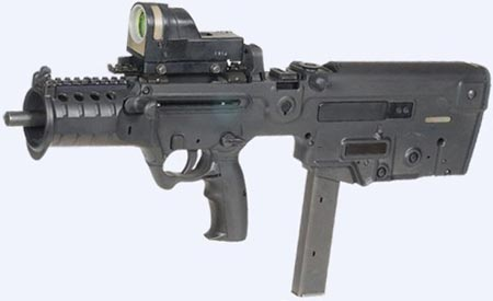 Tavor MTAR 21 калибра 9х19 мм
