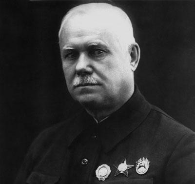 В. А. Дегтярев. 1940 г.