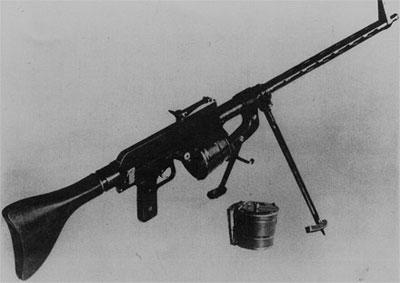 7,92-мм ручной пулемет Фолльмер MG.27. Опытный образец