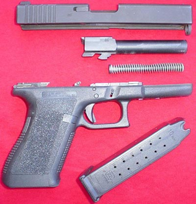 Glock 20 неполная разборка