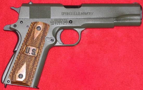 IMBEL Pistola M911 в экспортном варианте для США под брендом «Springfield Armory»