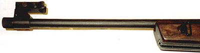 Вид на ствол и мушку ОЦ-48К
