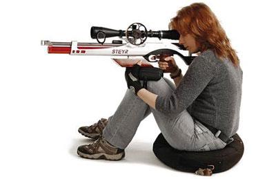 Положение сидя – самое устойчивое и «точное» из всех стрелковых позиций, при которых винтовка опирается только на тело стрелка