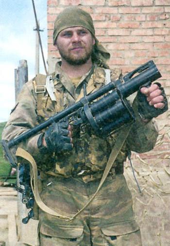40-мм револьверные гранатометы