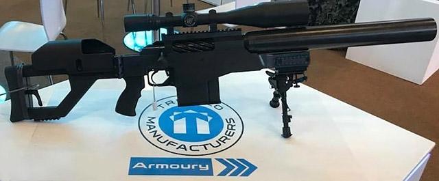 Truvelo AMRIS 20x42 mm на выставке AAD 2018