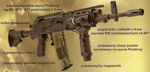 Kbk wz 96 Beryl Commando образца 2007 года