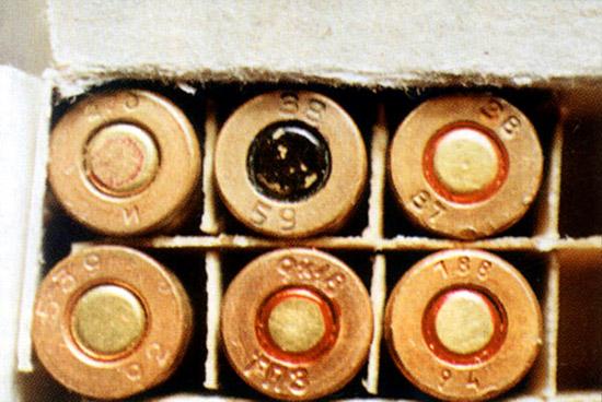 Клейма на патронах 9х18 ПМ и 9х18 ПММ