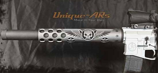 ствольные накладки Unique-ARs