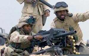 Американские солдаты с гранатометом Mk.19 mod.3