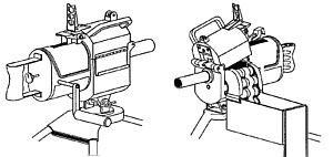 Рисунок двух видов одного из первых 40-мм американских гранатометов Mk.18 mod.0 (1962), использовавшегося войсками США во Вьетнаме.
