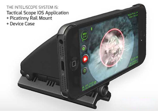 Inteliscope: Your Weapon Mounted Digital Multi-Tool