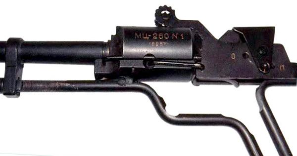 Казенная часть опытного ружья МЦ260