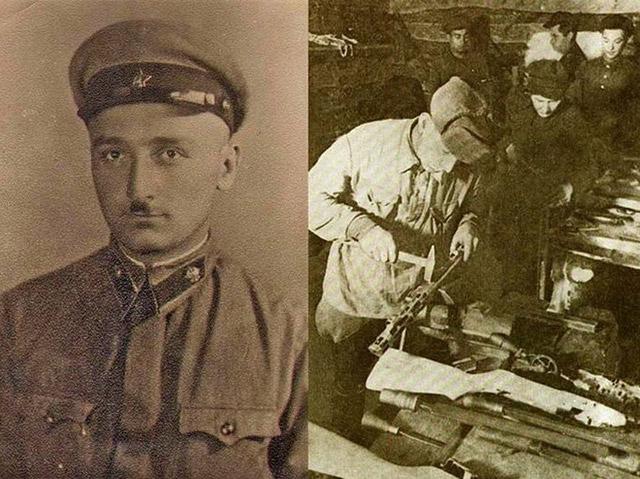 Тенгиз Шавгулидзе (слева) и типичная партизанская мастерская (справа)