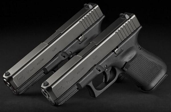 Glock 17 Gen5 и Glock 19 Gen5