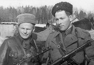 Партизанские командиры. Минская область. 1944 год
