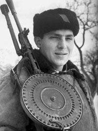 Партизанский пулеметчик. 1944 год