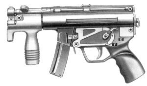 9-мм пистолет-пулемет МР.5 К