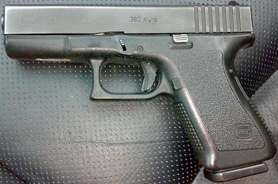 Glock 25 раннего выпуска