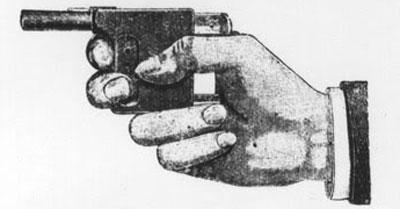 пистолет Le Gaulois при использовании
