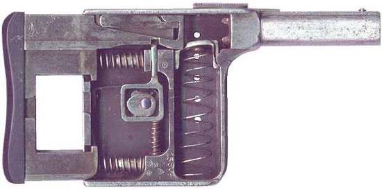 Gaulois № 1 устройство пистолета