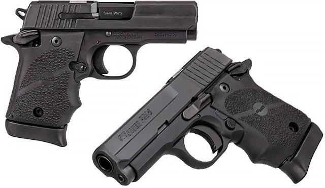 Микрокомпактный пистолет SIG Sauer P938, предназначенный для скрытого ношения теперь доступен с технологией SIG-Anti-Snag (SAS)