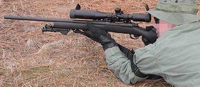 М24 при стрельбе
