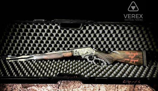 Тюнингованный Marlin 1895 SBL от компании VEREX Tactical