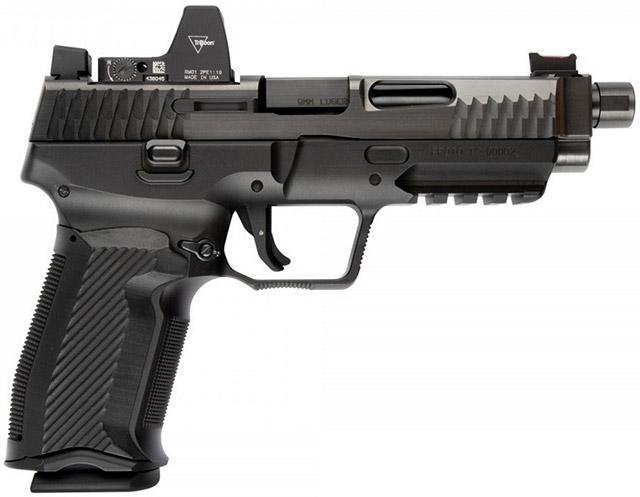 Пистолет NEMO Arms MK-9MM-5SFTB-B с коллиматором Trijicon RMR Type 2 и увеличенными <a href='https://arsenal-info.ru/b/book/2966502025/19' target='_self'>прицельными приспособлениями</a> XD BigDot