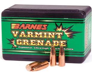 Варминт-гранаты от Барнс