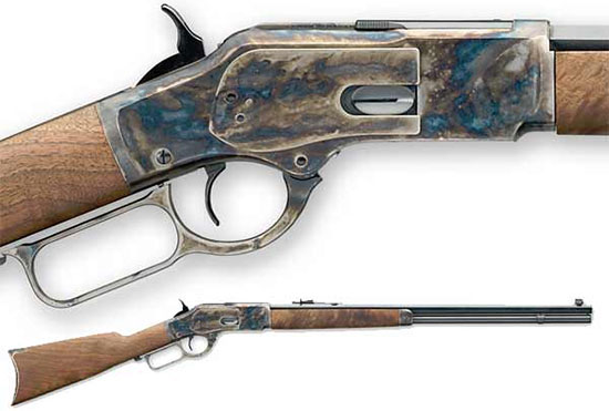 Winchester Model 1873 Sporter Octagon Color Case Hardened Rifle